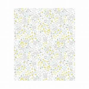 Papier Peint Bébé Garcon : l de papier peint enfant fleurs et oiseaux chambre de gar on lilipinso ~ Nature-et-papiers.com Idées de Décoration