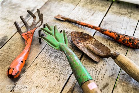 tools for gardening vintage garden tools the finishing touch to