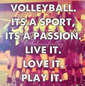 57 best images about Volleyball Quotes on Pinterest ...