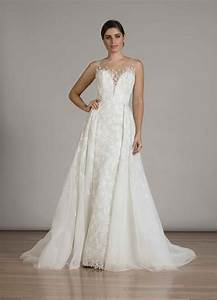 wedding dresses photos style 6848 with overskirt by With over skirt wedding dress