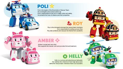 Hong Kong Hd Wallpaper Characters Robocar Poli