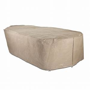 polytuf element large rectangular table setting cover With elemental outdoor furniture covers