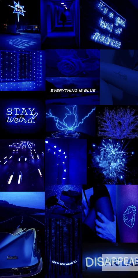 blue aesthetic blue aesthetic electric blue aesthetic