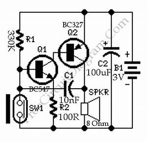 magnetic reed switch alarm circuit wiring diagrams With reed switch wiring