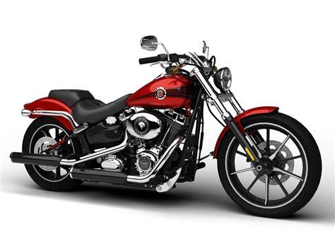 Harley-davidson Fxsb Softail Breakout 2015 3d Model Max
