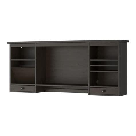 accessoires bureau ikea hemnes elemento supplementare scrivania marrone nero ikea