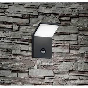 Led Lampen Mit Bewegungsmelder : led aussenwandlampe mit bewegungsmelder schwarz anthrazit ~ Orissabook.com Haus und Dekorationen