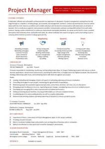 handing in resume to manager project manager sle resume sle resumes