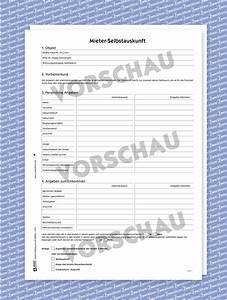 Schufa Formular Für Vermieter : selbstauskunft muster formular downloaden zweckform ~ Orissabook.com Haus und Dekorationen