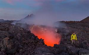 Opening In Earth U0026 39 S Crust Reveals River Of Lava