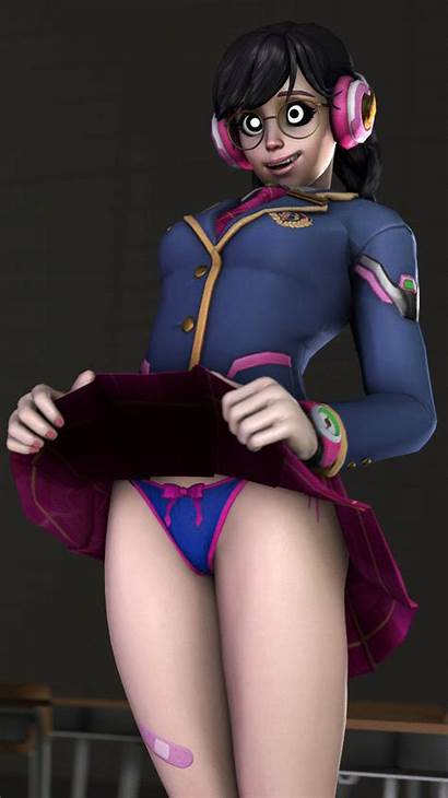 Hypnohub Va Animated Clothed Skirt Open Panties