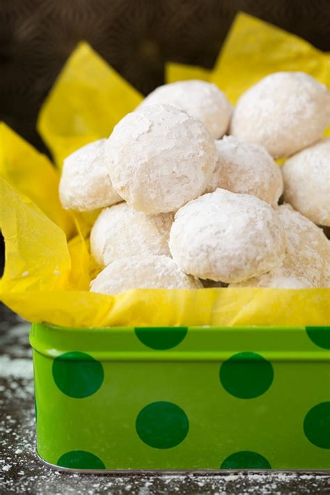 Learn all about the traditional christmas cookies from european countries including bulgaria, croatia, czech republic, hungary, lithuania, poland, romania, and serbia. Lemon Snowball Cookies - Cooking Classy