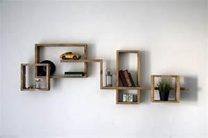 Etagere Murale Pour Tv : etagere murale radja yvar design mobilier ecodesign ~ Teatrodelosmanantiales.com Idées de Décoration
