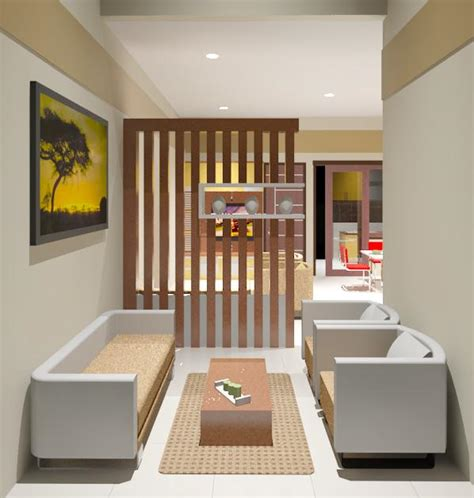 desain interior rumah sederhana elegan  inspiratif