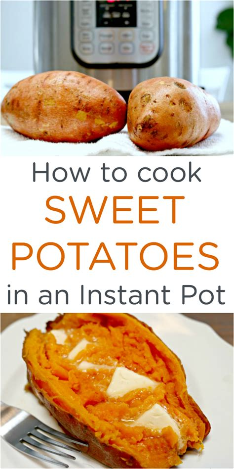 how to boil sweet potatoes how to cook easy instant pot sweet potatoes