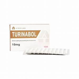 Turinabol - Chlorodehydromethyltestosterone 10mg  Tab - 100 Tabs - A-tech Labs