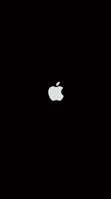 black iphone background plain black iphone 6 wallpaper 27063 logos iphone 6