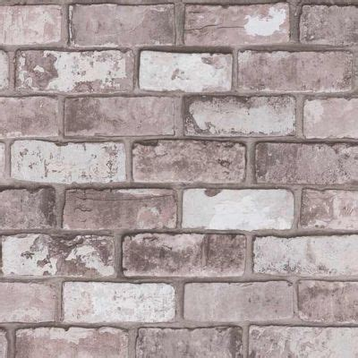 papier peint brique gris papier peint vinyle intiss 233 brique gris ros 233 arcelot castorama