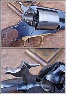 Grip Size Chart Custom Made Pair Of 1858 Remington Conversions 38 Caliber