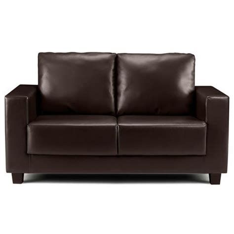 small faux leather sofa kirsty faux leather two seater sofa from frances hunt
