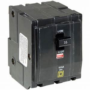 Sicherungsautomat 35 Ampere : square d qo 35 amp 3 pole plug in circuit breaker qo335cp ~ Jslefanu.com Haus und Dekorationen