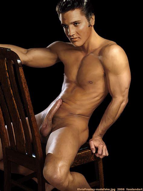 Nudefakeselvis Presley In Gallery Male Celebs Nude
