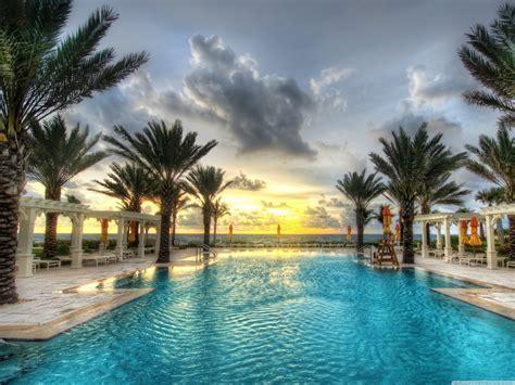 Luxury Resort Hd Desktop Wallpaper High Definition