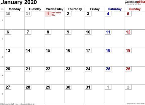 january  calendar uk qualads