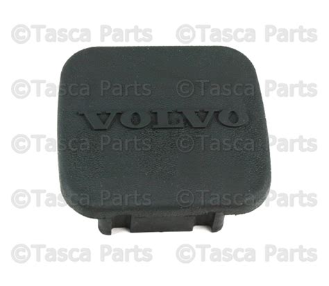 oem towing hitch brand cover   volvo