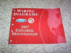 2007 Ford Explorer Electrical Wiring Diagram Manual Xlt