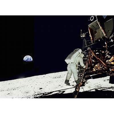 First humans on the moon EarthSkyToday's Image