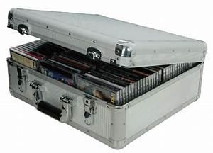 Aluminium Cd Flight Storage Case 96 Cds Great For Music