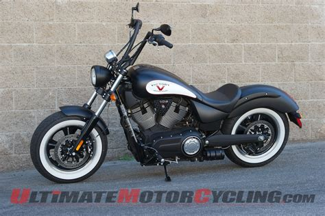 2014 Victory High-ball Cruiser Motorcycle Review