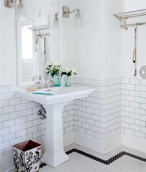 black and white bathroom tile ideas 35 vintage black and white bathroom tile ideas and pictures