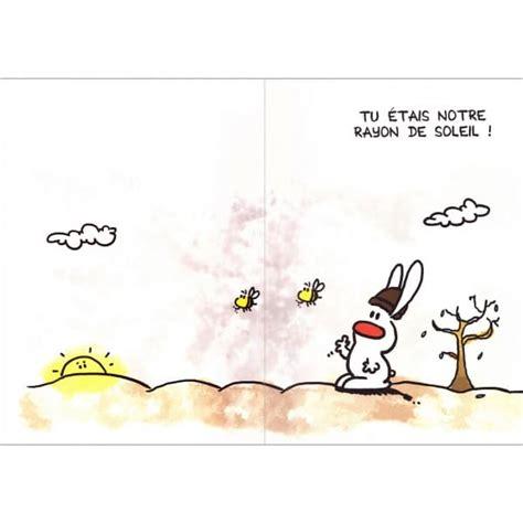 carte pot de depart maxi carte au revoir show lapin cadeau maestro