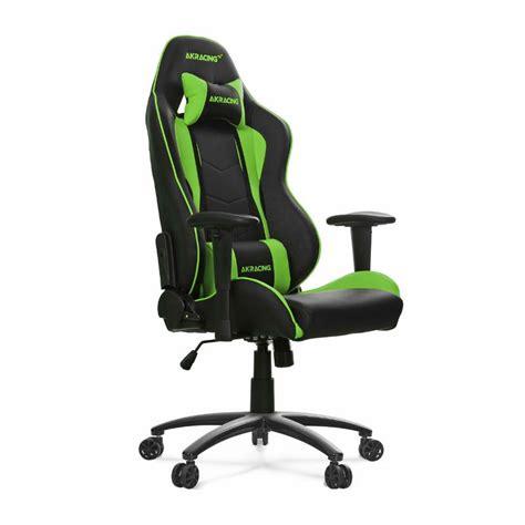 ak racing nitro series office gaming chair green ak