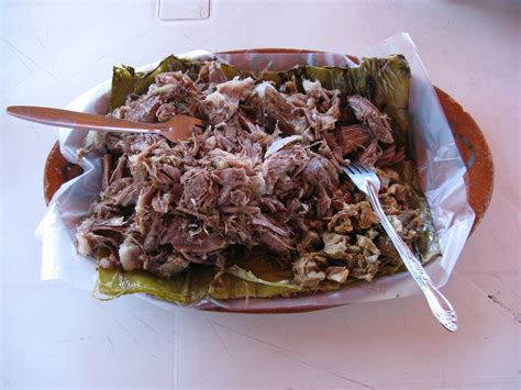 smoked  head barbacoa ethnic foods