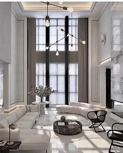 Double, Height, All, White, Love, The, Marble, Fireplace, Wall, U2022, U2022, U2022, U2022, U2022, U2022, Interior, Interiordesign