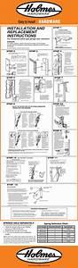 E900 Garage Door Hardware Installation Instructions
