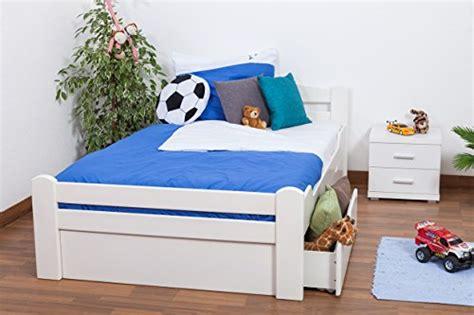 jugendbett mit gästebett und schubladen jugendbett quot easy sleep quot k4 inkl 2 schubladen und 1 abdeckblende 120 x 200 cm buche vollholz