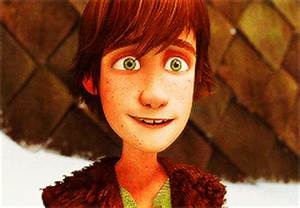 Hiccup's smiles in Gift of the Night Fury - Hiccup ...