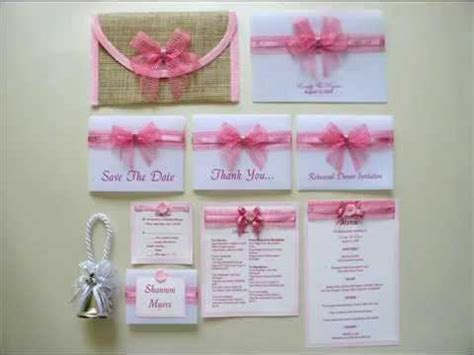 philippine wedding invitations unique wedding invitations