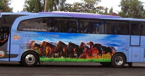 harga tiket bus wisata komodo april   transportasicom