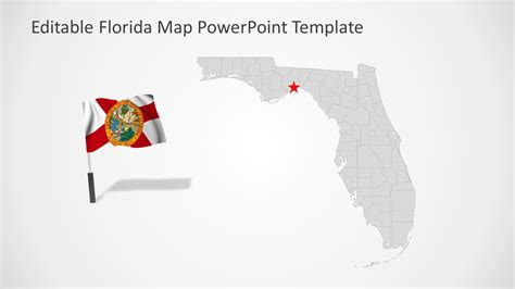 Florida State Powerpoint Map Template