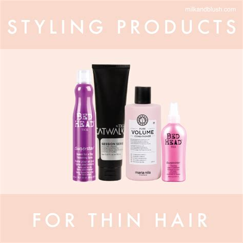 hair styling products for thinning hair styling products for thin hair hair extensions 5461