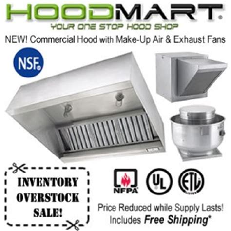 Kitchen Exhaust Make Up Air by Commercial Kitchen 4ft Restaurant System W Make
