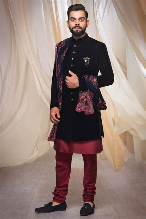 latest  indo western dresses  groom  enhanced