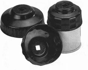 A253 Cap Style Oil Filter Socket Wrench 93mm 36 Flutes