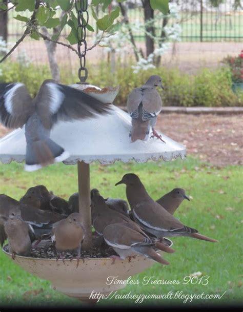 timeless treasures two story galvanized metal bird feeder