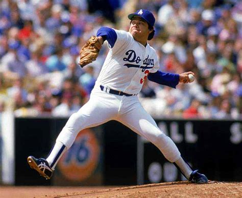 early  fernando valenzuela los angeles dodgers game